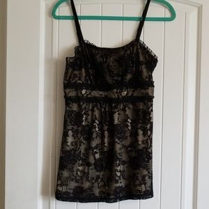 GUC Maurices lace lined Camisole size medium